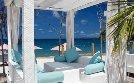 The BodyHoliday LeSport - Relaxation in front of a white sand beach and crystal clear sea