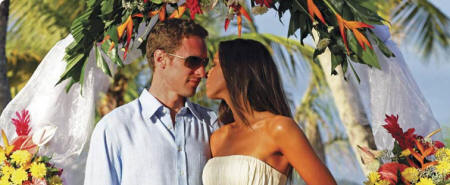 The BodyHoliday, St. Lucia - Renewal of Vows at the resort