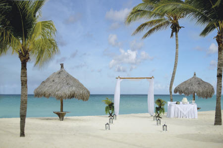 Bucuti & Tara Beach Resorts - Wedding venue on the beach