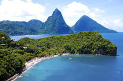 Anse Chastanet (St. Lucia, W.I.)