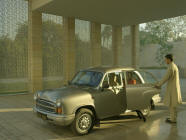The Lodhi, New Delhi - Ambassador car