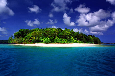 Turtle Island, the perfect place for a romantic moment