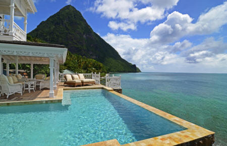 Sugar Beach, A Viceroy Resort - Luxury Villa with private pool and stunning views over the Pitons