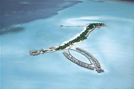 Taj Exotica Resort & Spa, Maldives - Aerial view