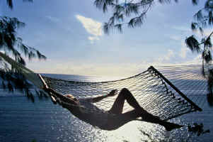 Honeymoon in a hammock